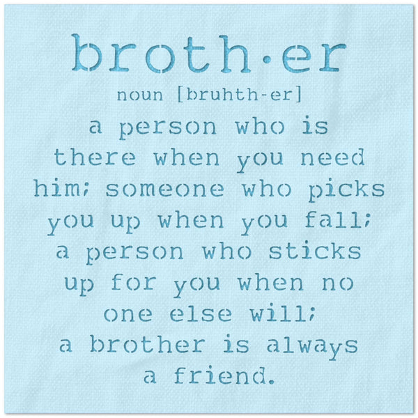 Brother Definition Stencil
