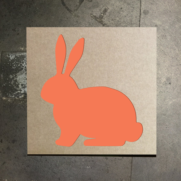 Easter Bunny Stencil