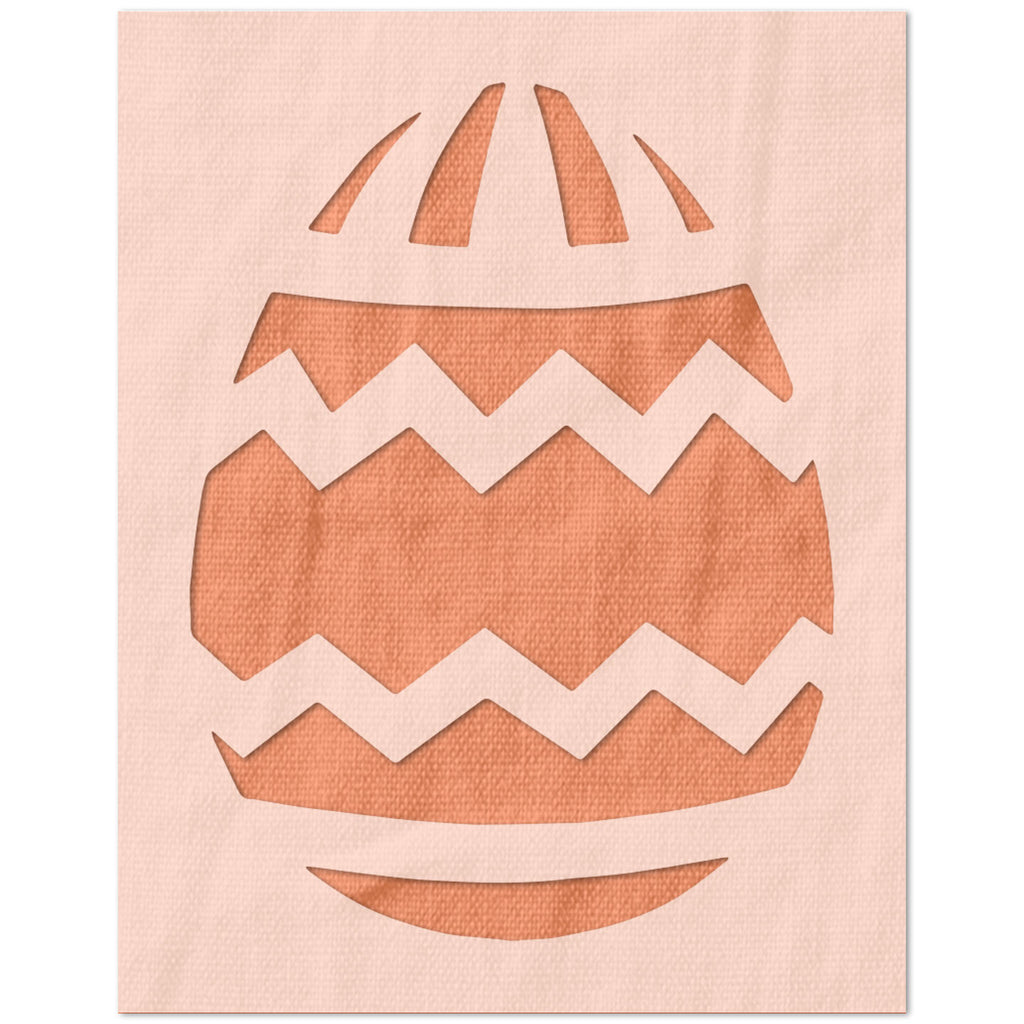 Decorative Easter Egg Stencil