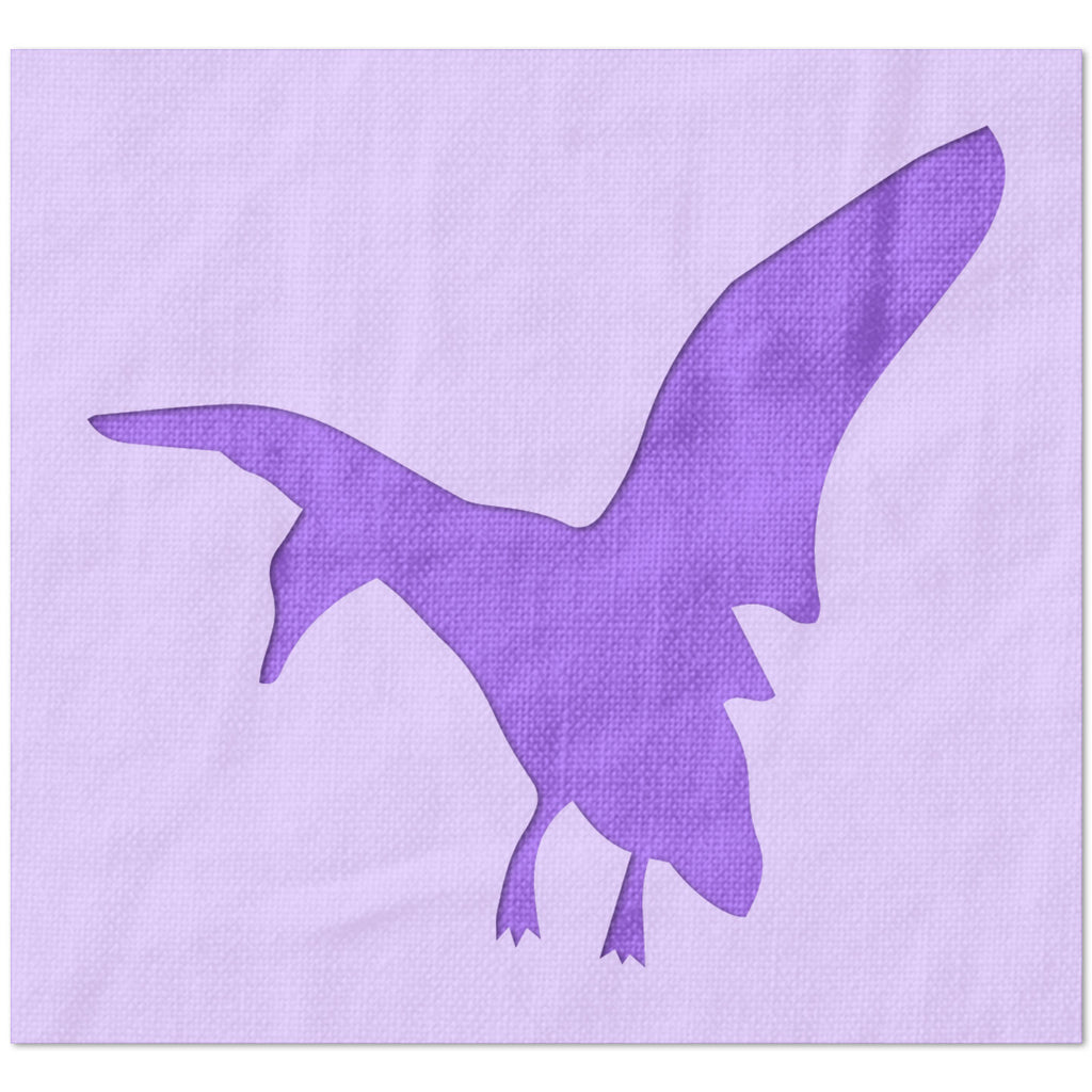 Flying Duck 3 Stencil