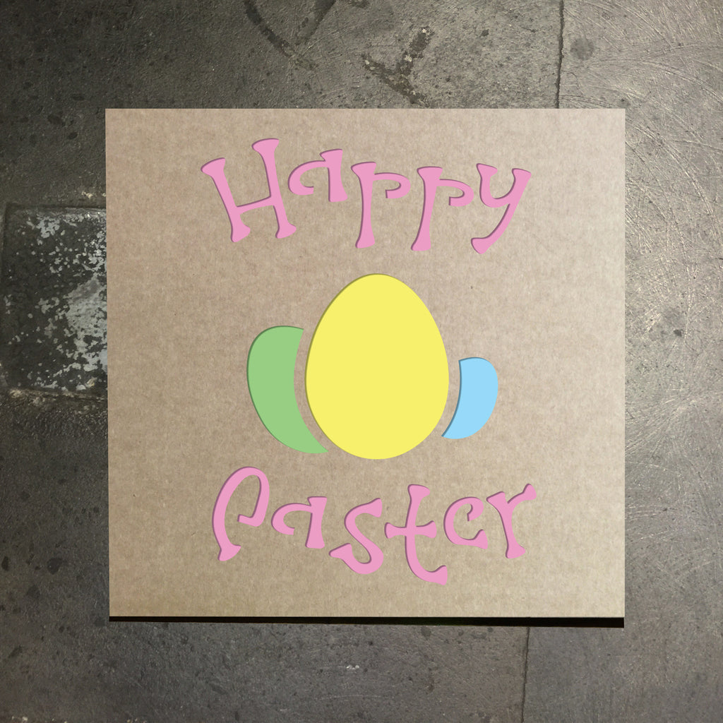 Happy Easter Stencil