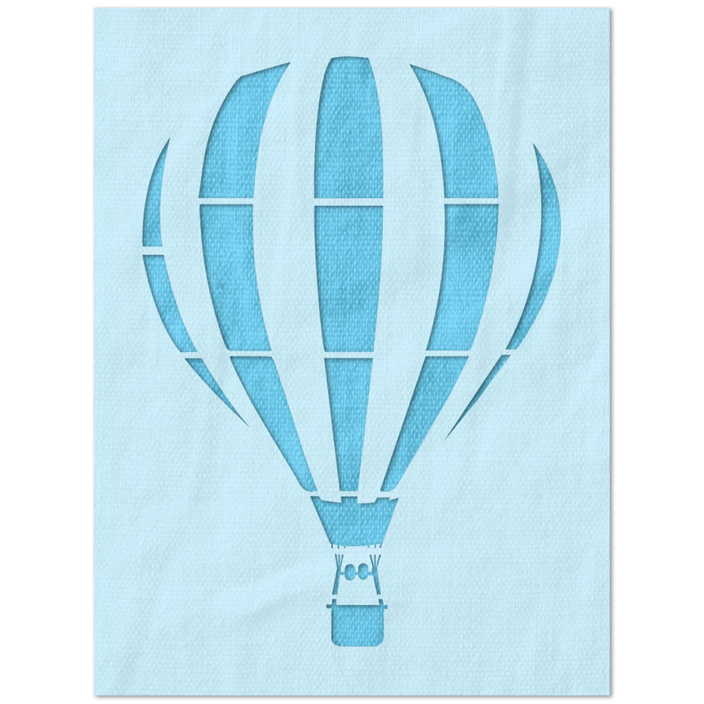 Hot Air Ballon Stencil