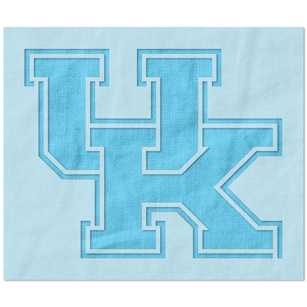 Kentucky Wildcats UK Logo Stencil