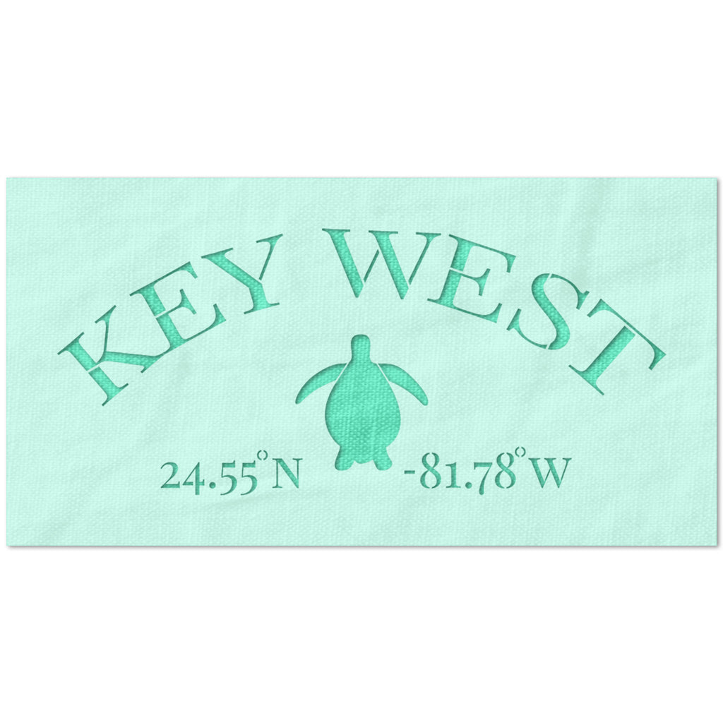 Key West Turtle Stencil