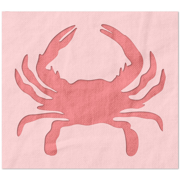 Maryland / Baltimore Crab Logo Stencil