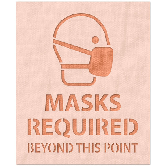 Masks Required Beyond this Point Stencil