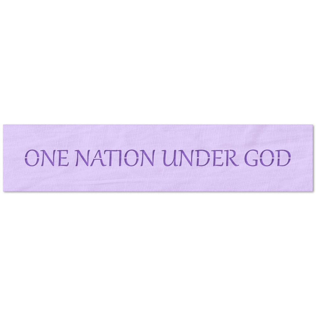 One Nation Under God Stencil