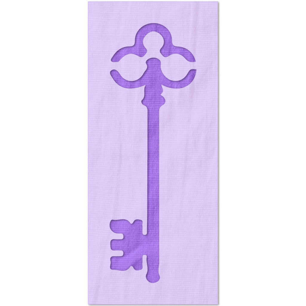 Skeleton Key Stencil