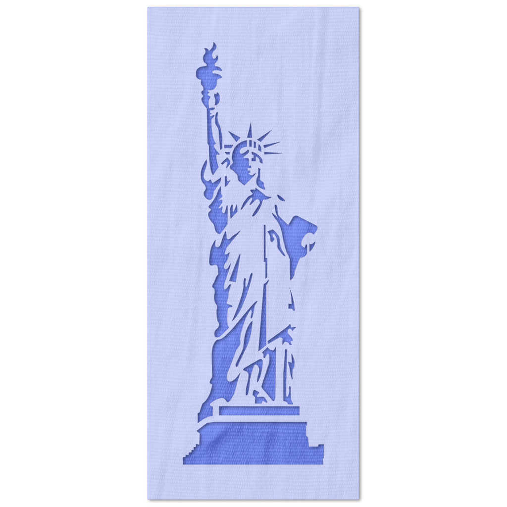 Statue of Liberty Detailed Stencil