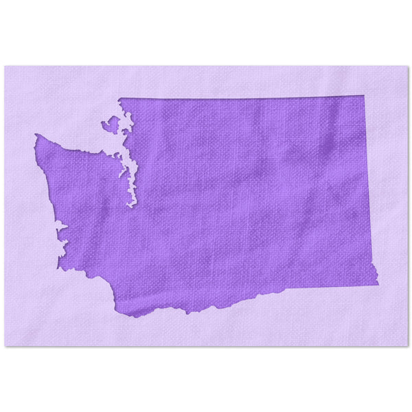 Washington State Outline Stencil