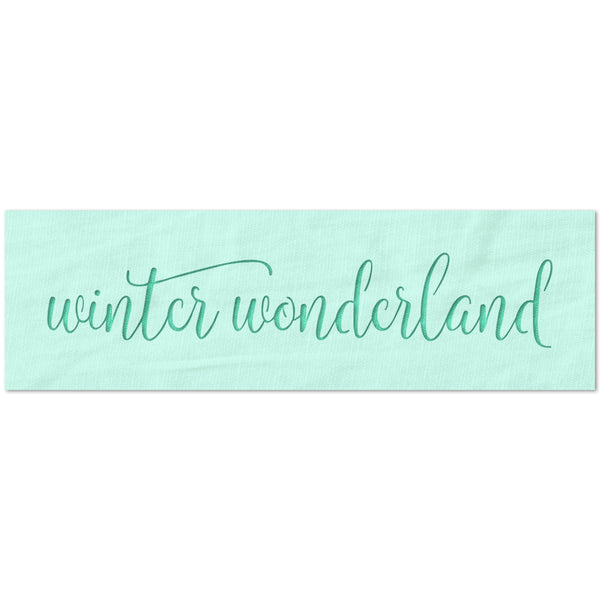 Winter Wonderland Stencil