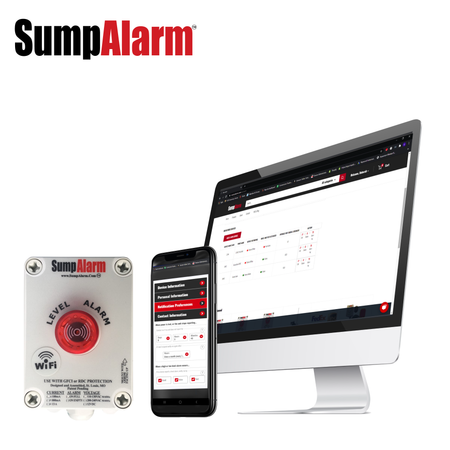 Wireless (Wifi) Sump Alarm Low Level Tank Alarm