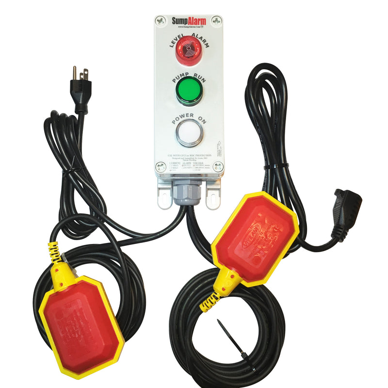 Sump Watch High Water Alarm & Pump Monitor - Sump Alarm