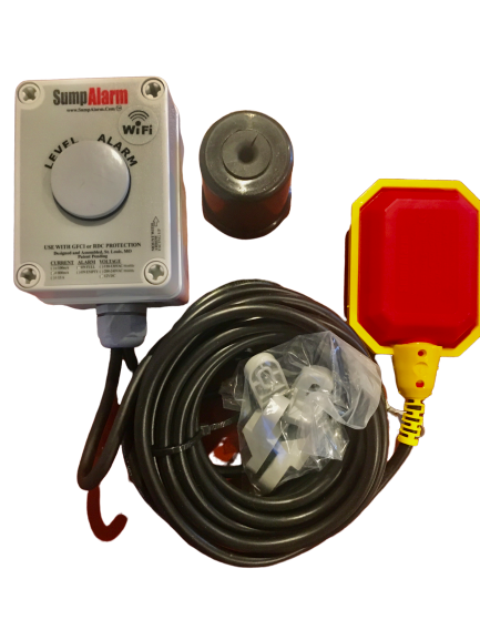 12VDC Wireless High Water Alarm Without Indicator for Solar Installations - Sump Alarm