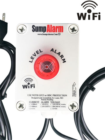 Wireless (Wifi) Sump Alarm High Water Alarm