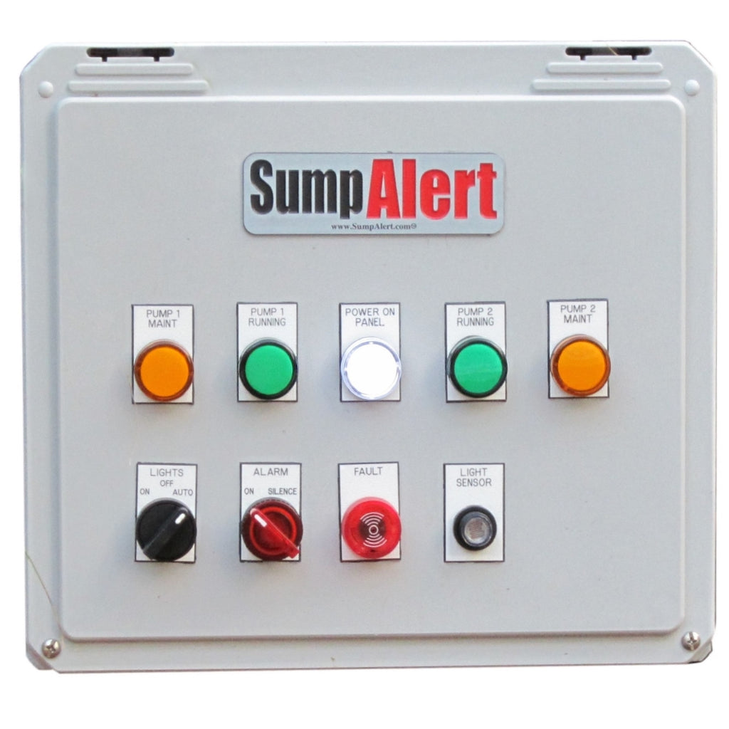 Sump Alert Custom Control Panels (Priced and Built To Order), Sump Alarm