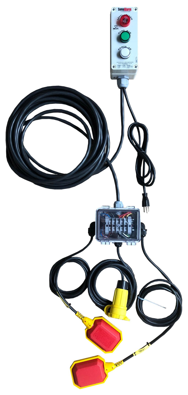 Sump Watch High Water Alarm & Pump Monitor Direct Burial