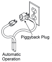 3100 Series Piggyback Sump Pump Float Switch - Sump Alarm
