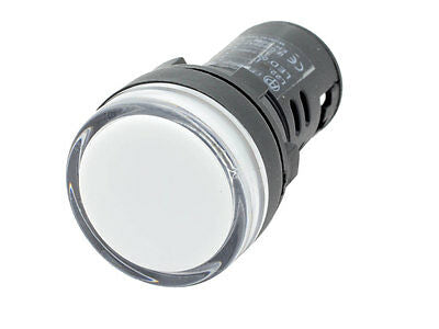 White 120V LED - Sump Alarm