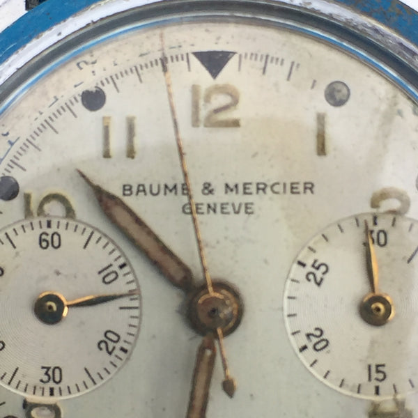 Baume and Mercier Geneve Chronograph Landeron Cal. 48