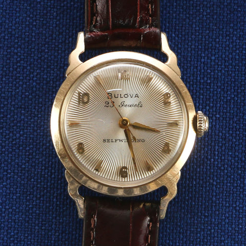 Bulova 23 Jewels Horned Lugs