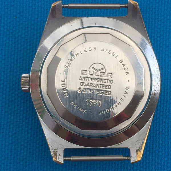 Buler Automatic Diver 6 ATM Red Date