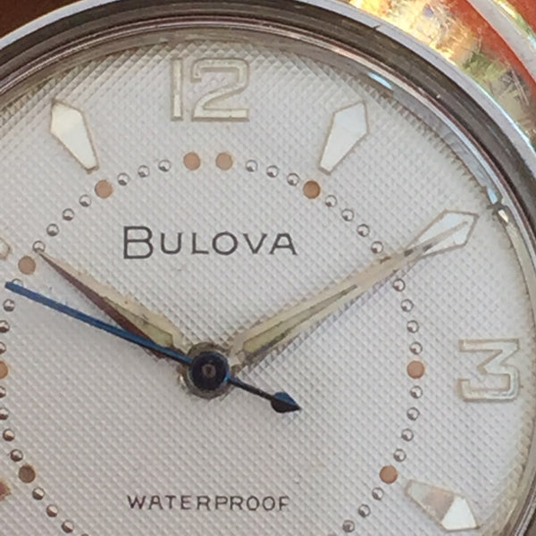 Bulova Seabee Textured Dial Blue Second Hand