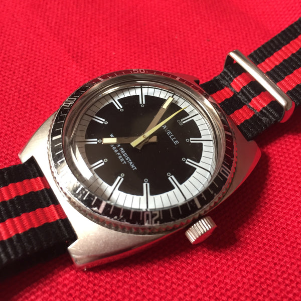 Caravelle 666 Feet Devil Dive Watch