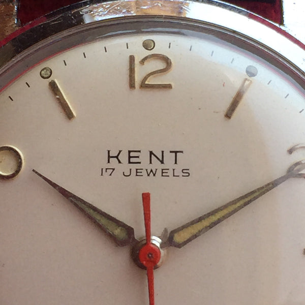 Kent Automatic Red Second