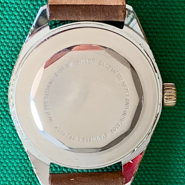 Alsta Diver Lollipop Second Hand with Date