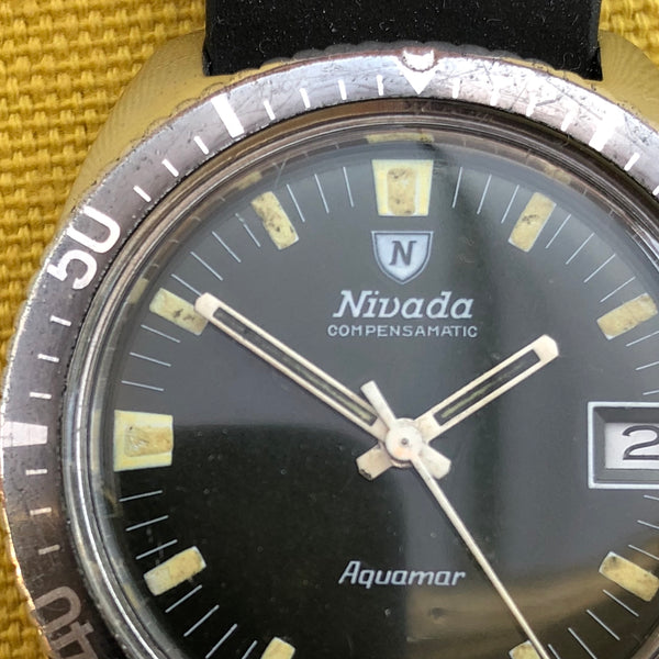 Nivada Compensamatic Aquamar with Date