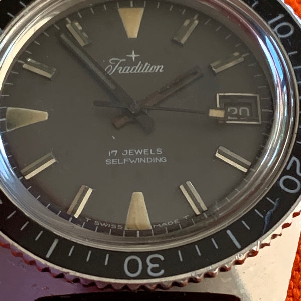 Tradition Skin Diver Automatic With Date Ref. 10466