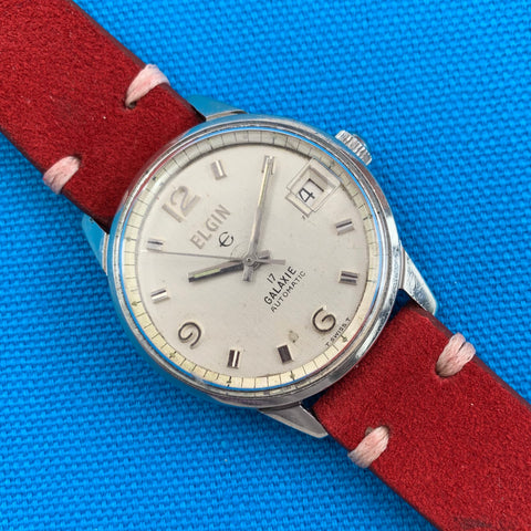 Elgin Galaxie With Date Automatic Stainless Steel