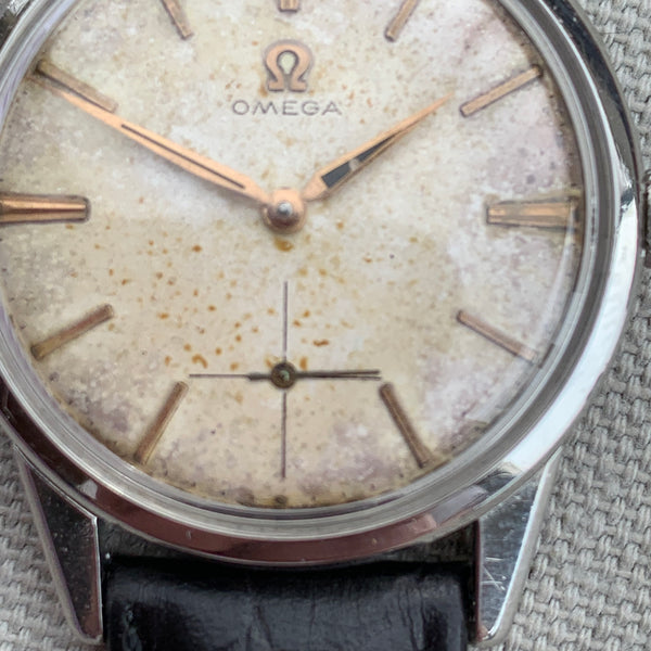 Omega cal. 268 Manual Wind Signed Crown