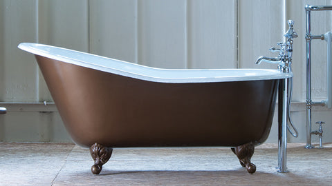 The Portia - Cast Iron Bath from The English Foundry