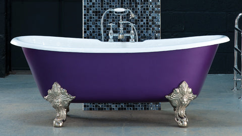 The Ophelia - Cast Iron Bath from The English Foundry