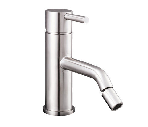 Bidet Mixer - Palermo Bagno Brushed Stainless Steel Collection