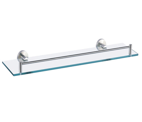 Glass Shelf - Palermo Bagno Brushed Stainless Steel Collection