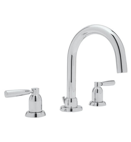 Perrin & Rowe Classic Contemporary Three Hole Tubular Basin Mixer - 3955 / 3956