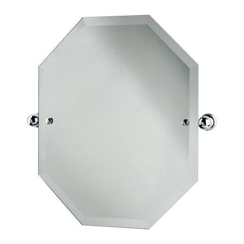 Perrin & Rowe Traditional Octagonal Mirror 625x500 6980