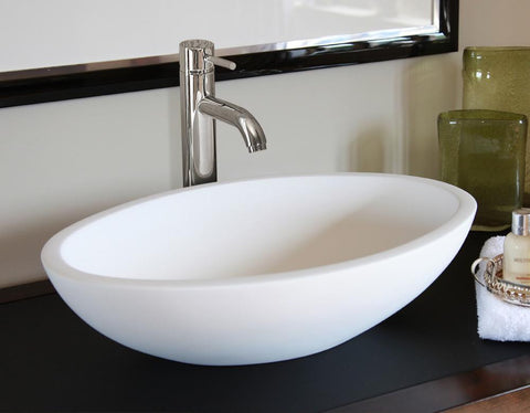 Dusk - Natural Stone Basin Bowl