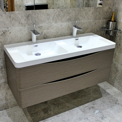 Joy 1200 - Double Basin Vanity from Palermo Bango