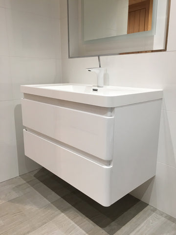 Linear 900 - Basin Vanity from Palermo Bagno