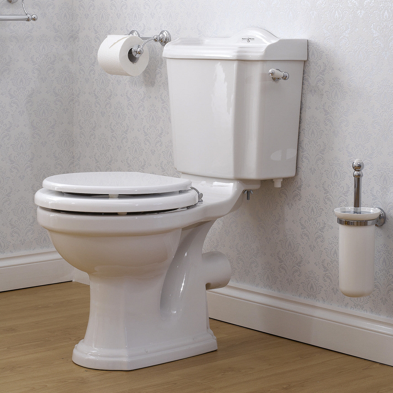perrin amp rowe edwardian close coupled wc: perrin rowe lifestyle