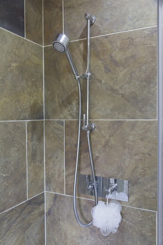 Perrin & Rowe Classic Contemporary Concealed Thermostatic Shower Mixer with 1 shut off valves - 5368 CP