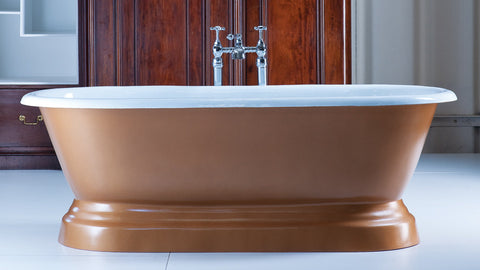The Juliet - Cast Iron Bath from The English Foundry