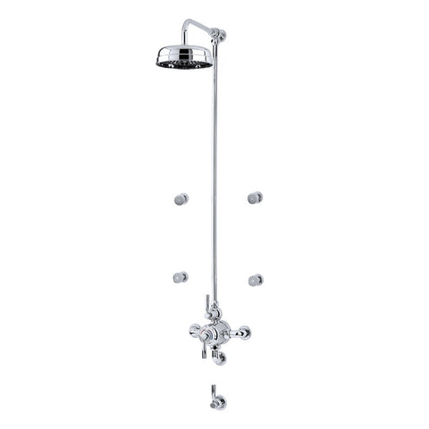 Perrin & Rowe Contemporary Shower Set D1