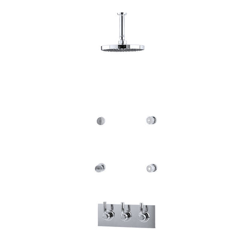 Perrin & Rowe Contemporary Shower Set G