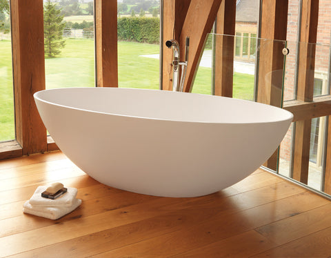 Ellipse - Freestanding Stone Bath