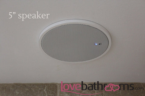 Nice ... DAB Radio With Bluetooth Connectivity Bathroom Sound System With Ceiling  Speakers
